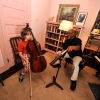Ronald Lipscomb, Cello lesson at the Bryn Mawr Conservatory of Music