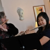 A flute lesson with Ellen Fisher-Deerberg
