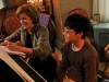 A piano lesson with Laurie Ticehurst in the Recital Room at the Bryn Mawr Conservatory of Music